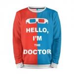Merchandise Sweatshirt Doctor Who Hello I'M The Doctor