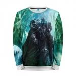 Merch Sweatshirt Lich King World Of Warcraft Game Apparel