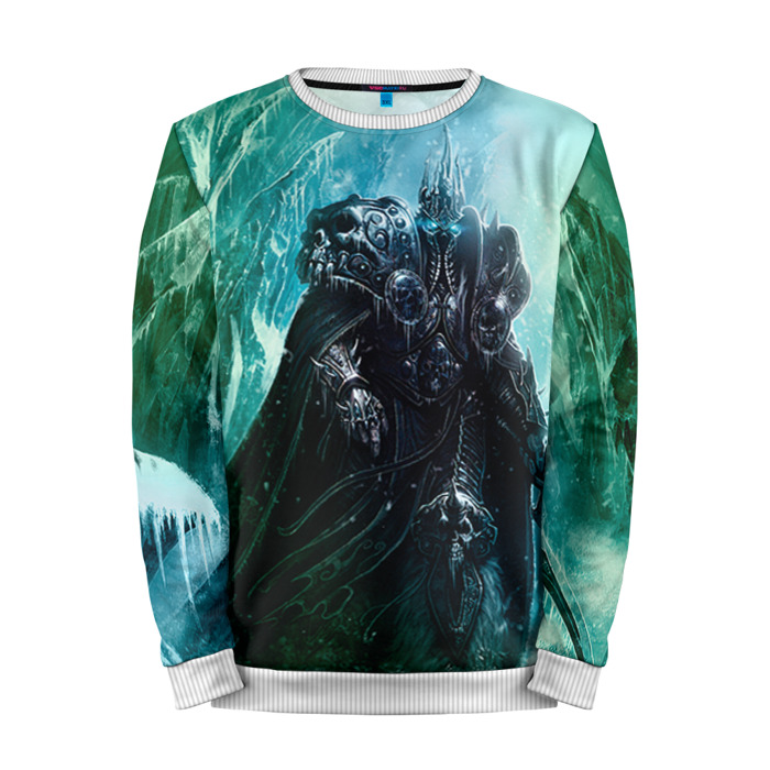 Buy Mens Sweatshirt 3D: Lich King World of Warcraft Merchandise collectibles