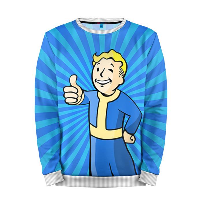 Buy Mens Sweatshirt 3D: Fallout Vault Boy Pattern merchandise collectibles