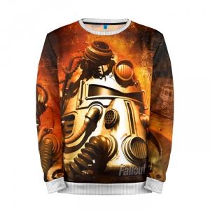 Buy Mens Sweatshirt 3D: Fallout Armor Old school merchandise collectibles