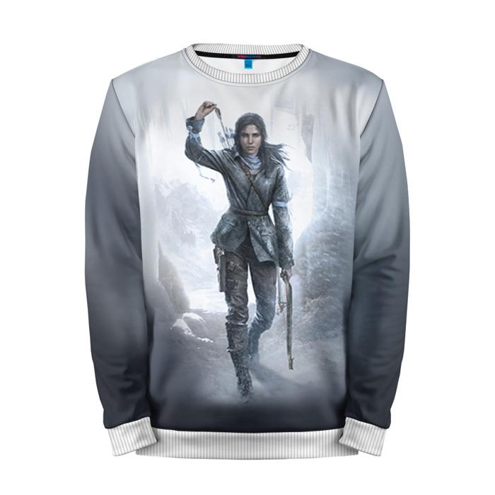 Buy Mens Sweatshirt 3D: Rise of the Tomb raider Lara Croft art Merchandise collectibles