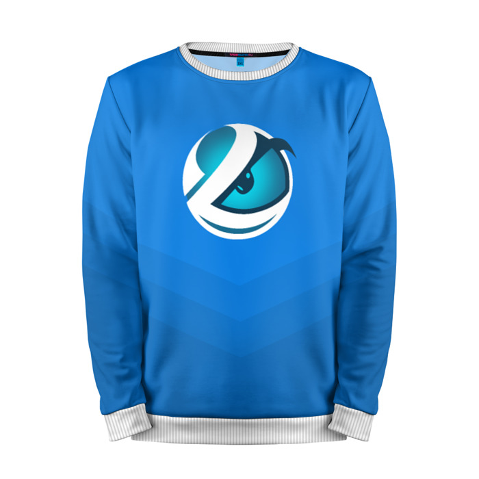 Merchandise Sweatshirt Luminosity Counter Strike Blue