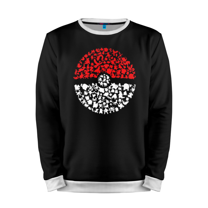 Buy Mens Sweatshirt 3D: 1 Pokemon Go merchandise collectibles