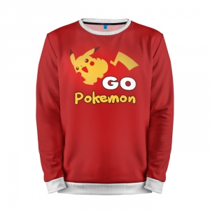 Buy Mens Sweatshirt 3D: Pokemon GO 8 Pokemon Go merchandise collectibles
