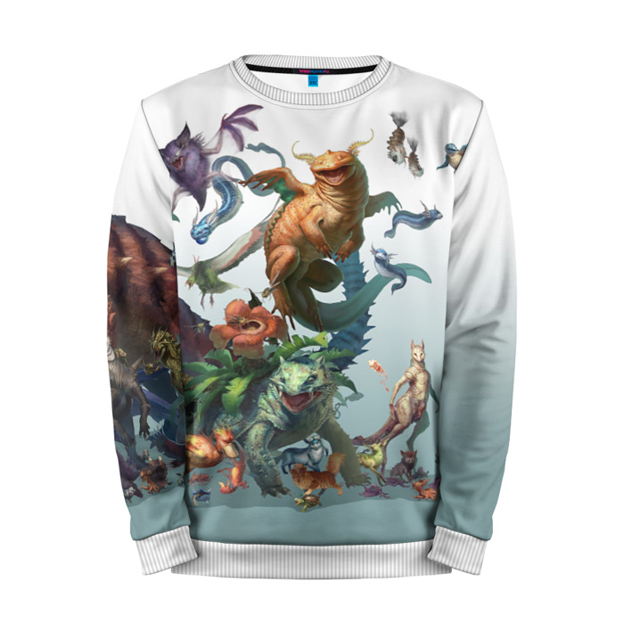 Buy Mens Sweatshirt 3D: Pokemon Go Realism merchandise collectibles