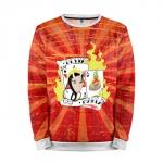 Merchandise Sweatshirt Devil Maria Poker Game Sweater