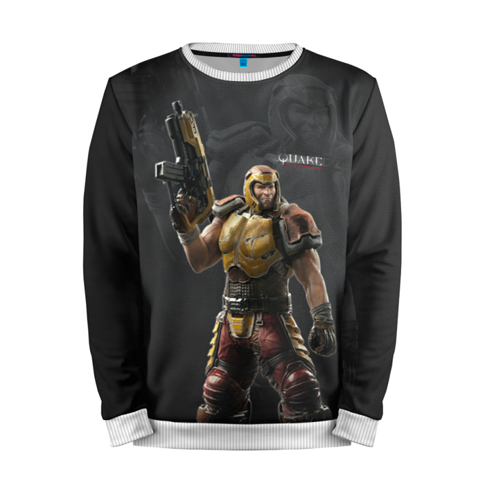 Buy Mens Sweatshirt 3D: Quake Game merchandise merchandise collectibles