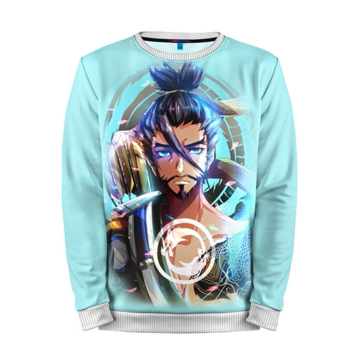 Buy Mens Sweatshirt 3D: Hanzo #2 Overwatch Merchandise collectibles