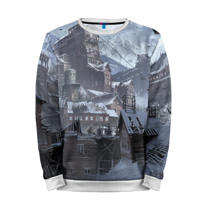Buy Mens Sweatshirt 3D: Tomb raider Lara Croft Mountains Merchandise collectibles