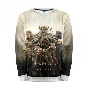 Buy Mens Sweatshirt 3D: TES 3 The Elder Scrolls Merchandise collectibles