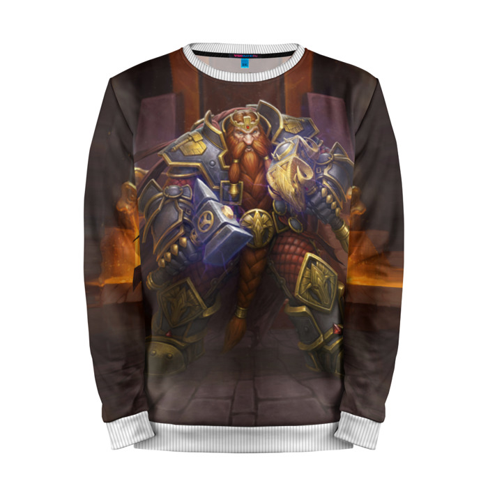 Buy Mens Sweatshirt 3D: Magni Bronzebeard Hearthstone Merchandise collectibles