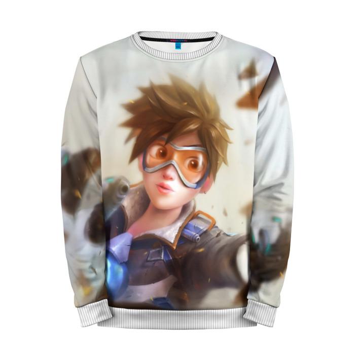 Buy Mens Sweatshirt 3D: Tracer Overwatch Merchandise collectibles