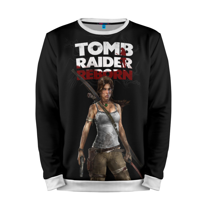 Buy Mens Sweatshirt 3D: Tomb raider Lara Croft reborn merchandise collectibles