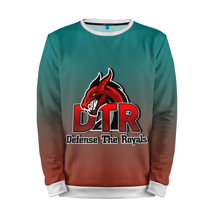 Buy Mens Sweatshirt 3D: Defense The Royals Dota 2 jacket merchandise collectibles