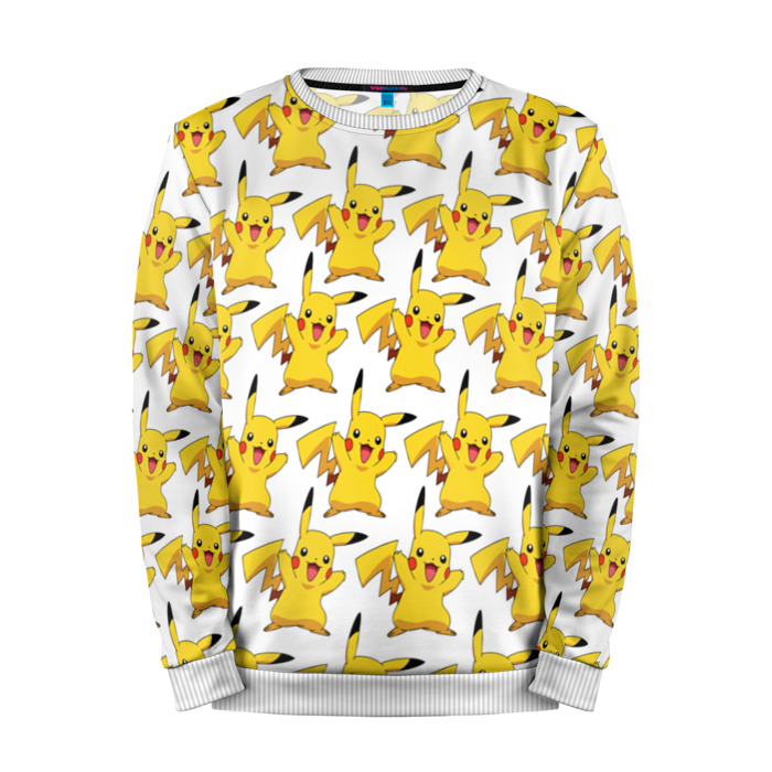 Buy Mens Sweatshirt 3D: Pikachu Pokemon Go Print merchandise collectibles