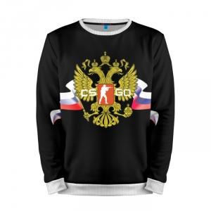 Buy Mens Sweatshirt 3D: CS GO RUSSIAN TEAM Counter Strike Merchandise collectibles