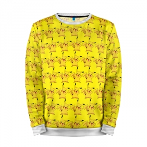 Buy Mens Sweatshirt 3D: Pikachu Bombing Pattern Pokemon merchandise collectibles