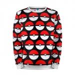Merch Sweatshirt Pokeballs Pokemon Go