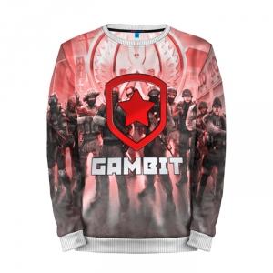 Buy Mens Sweatshirt 3D: GAMBIT CS GO Counter Strike Merchandise collectibles