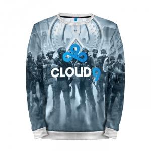 Buy Mens Sweatshirt 3D: CLOUD 9 CS GO Counter Strike Merchandise collectibles