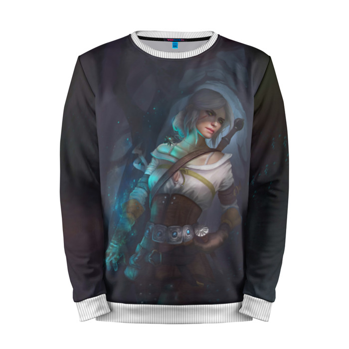 Buy Mens Sweatshirt 3D: Cirilla Fiona Elen The Witcher merchandise collectibles