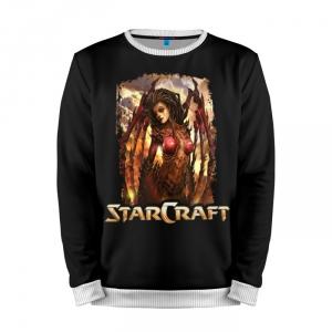 Buy Mens Sweatshirt 3D: Starcraft Kerrigan Character Merchandise collectibles