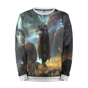 Buy Mens Sweatshirt 3D: Elf World of Warcraft Merchandise collectibles