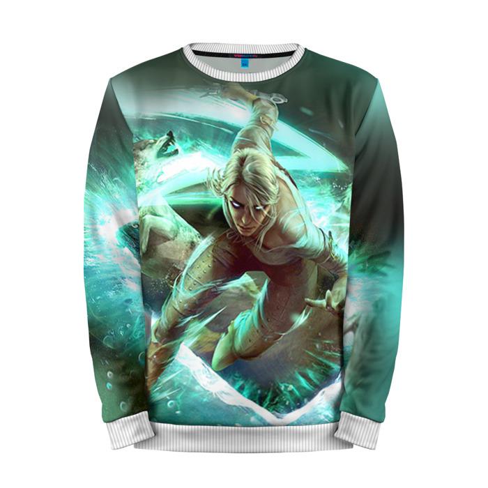 Buy Mens Sweatshirt 3D: Cirilla Fiona The Witcher merchandise collectibles
