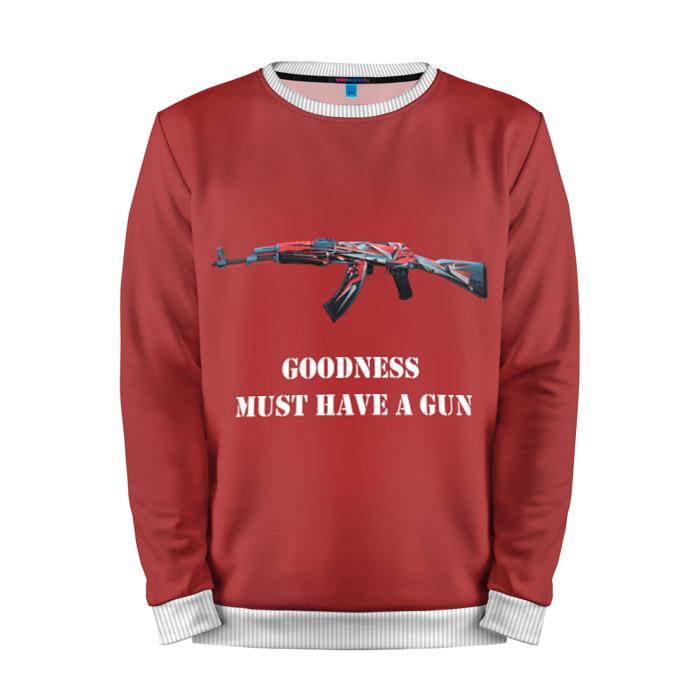 Buy Mens Sweatshirt 3D: Good must have a gun Counter Strike Merchandise collectibles