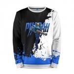 Merchandise Sweatshirt Overwatch Pharah Blue Black
