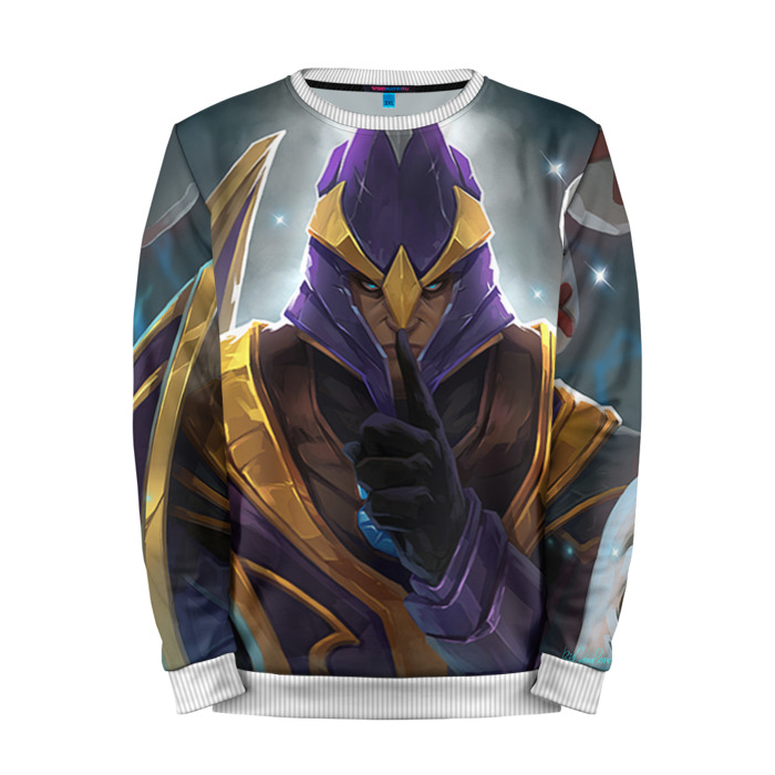 Buy Mens Sweatshirt 3D: Silencer Dota 2 jacket merchandise collectibles