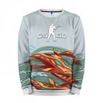 Merchandise Sweatshirt Aquamarine Revenge Counter Strike