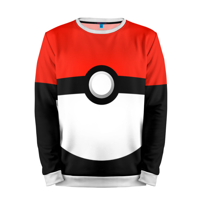 Buy Mens Sweatshirt 3D: Trainer Pokemon Go merchandise collectibles