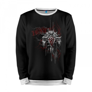 Buy Mens Sweatshirt 3D: Horde World of Warcraft Merchandise collectibles