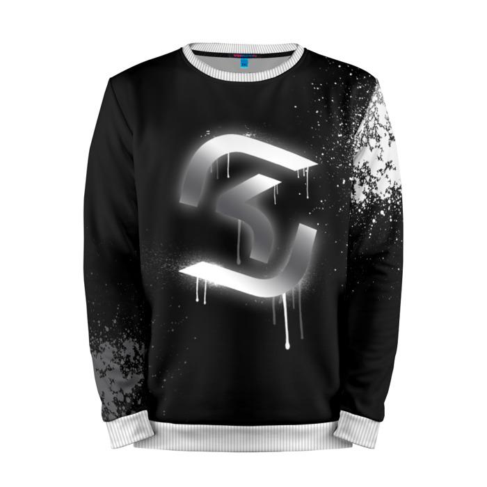 Buy Mens Sweatshirt 3D: cs:go SK Gaming Black collection Counter Strike Merchandise collectibles