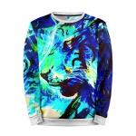 Collectibles Sweatshirt Blue Tiger Counter Strike