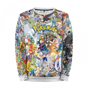 Buy Mens Sweatshirt 3D: Pokemon Go Poster print merchandise collectibles