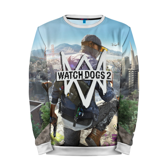 Buy Mens Sweatshirt 3D: Watch Dogs 2 Collectibles Merchandise collectibles