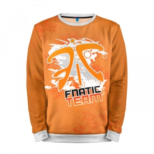 Buy Mens Sweatshirt 3D: Fnatic team Dota 2 jacket merchandise collectibles