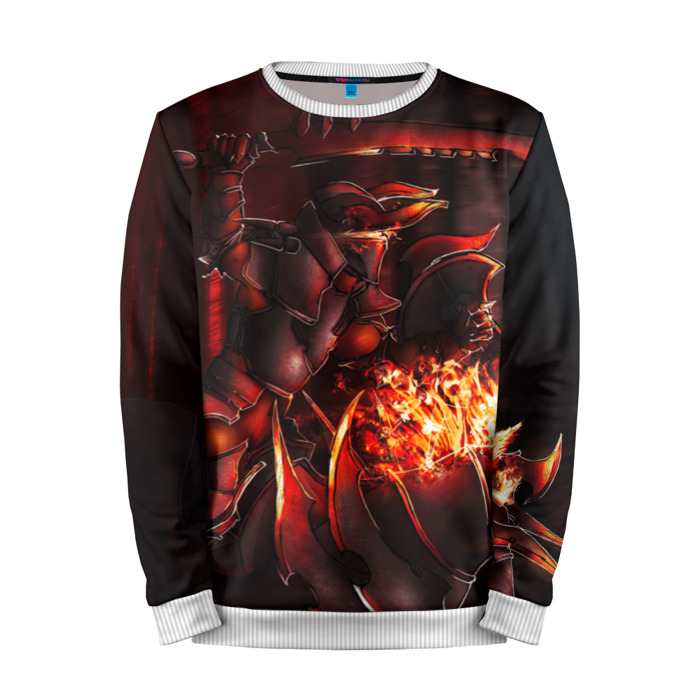 Buy Mens Sweatshirt 3D: Fire Knight Dota 2 jacket merchandise collectibles