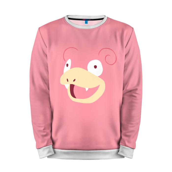 Buy Mens Sweatshirt 3D: Pokemon Go Slowpoke Merchandise collectibles