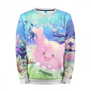 Buy Mens Sweatshirt 3D: Pokeball Pokemon Go Pink Merchandise collectibles