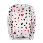 Collectibles Sweatshirt Card Suits Poker