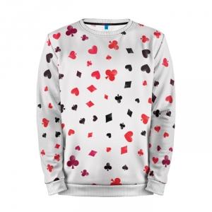 Merchandise Sweatshirt Card Suits Poker