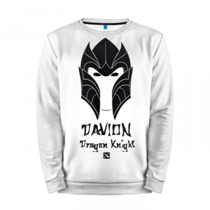 Buy Mens Sweatshirt 3D: dragon Knight DAVION Dota 2 jacket merchandise collectibles