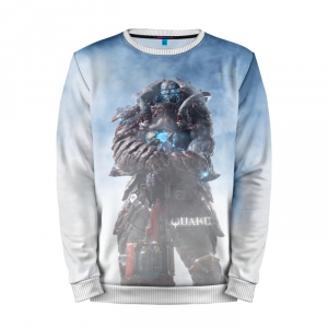 Buy Mens Sweatshirt 3D: Quake Game apparel merchandise collectibles