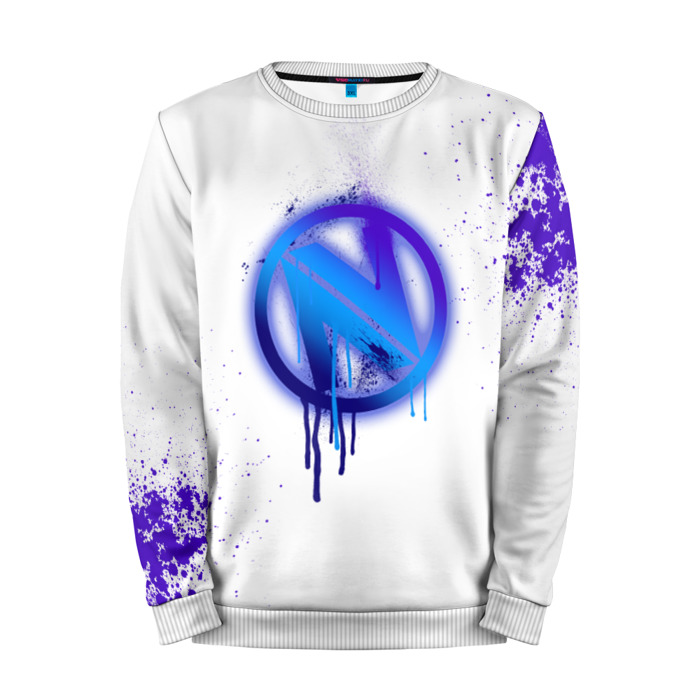 Buy Mens Sweatshirt 3D: cs:go EnVyUs White collection Counter Strike merchandise collectibles