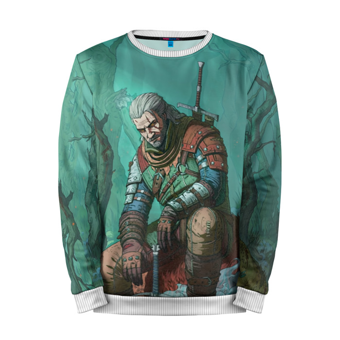 Buy Mens Sweatshirt 3D: Forest The Witcher merchandise collectibles