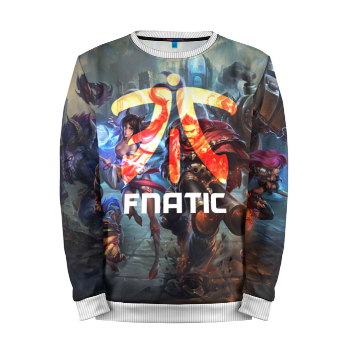 Buy Mens Sweatshirt 3D: Fnatic LOL League Of Legends merchandise collectibles